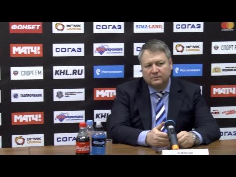 """""""Автомобилист"""" - """"Сибирь"""". Пресс-конференция"""