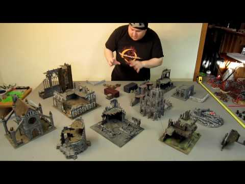 Tyranids vs Chaos Space Marines   2000pts warhammer 40k battle report   cover slaves