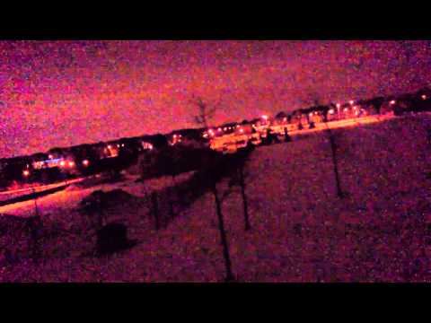 Strange noise outside Toronto, ON (January 4, 2013 - lots of wind noise)