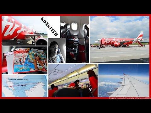 AirAsia Flight Review : AK5113 Kota Kinabalu to Kuala Lumpur by KonstiYH