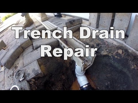 Common Problem with Channel Drain