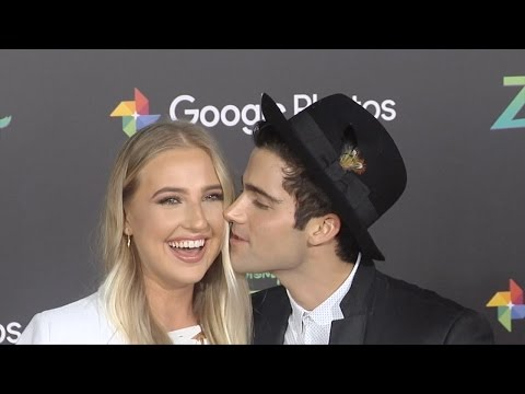 Veronica Dunne & Max Ehrich get cozy