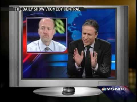 Jim Cramer responds to Jon Stewart