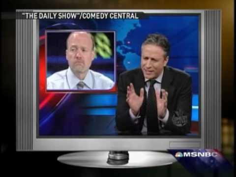 Jim Cramer responds to Jon Stewart