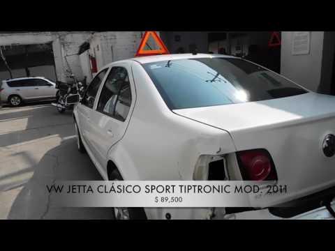 Accidentado VW Jetta Clasico Sport 2011 AutoComercia