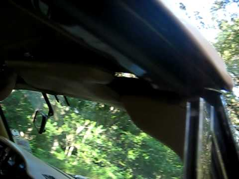 1978 Rolls Royce Corniche Convertible Top going up Video