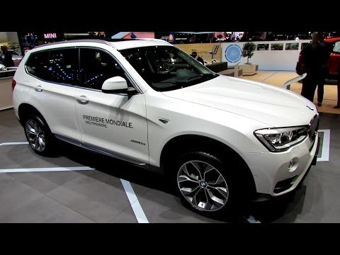 2015 BMW X3 xDrive 20d - Exterior and Interior Walkaround - 2014 Geneva Motor Show