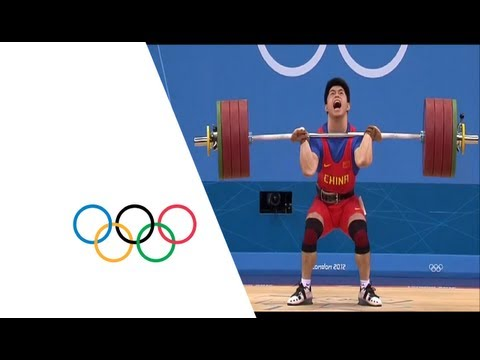 Qinfeng Lin (CHN) Wins Men's 69kg Weightlifting Gold -- London 2012 Olympics