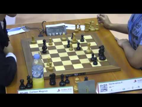 Carlsen vs Harikrishna - 2014 World Blitz Championship