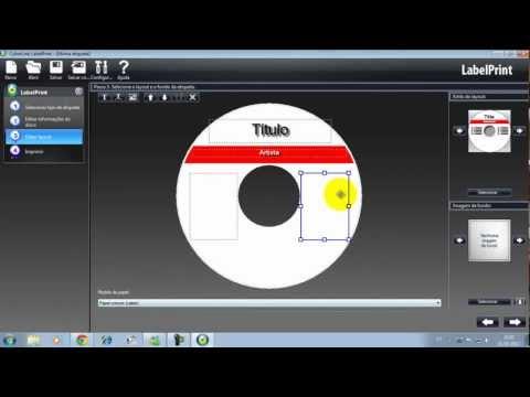 Como Criar Etiqueta De CD Ou DVD