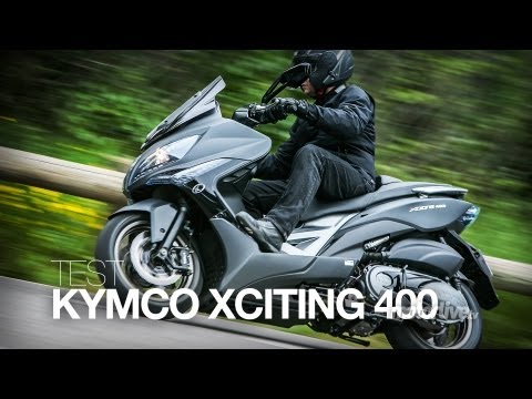 TEST | KYMCO XCITING 400i, Un Tmax made in Taïwan ?