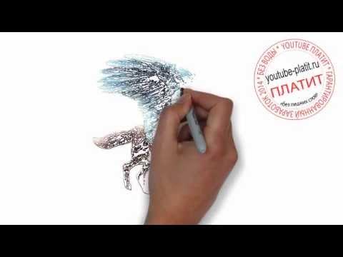 Видео как нарисовать собаку овчарку карандашом поэтапно