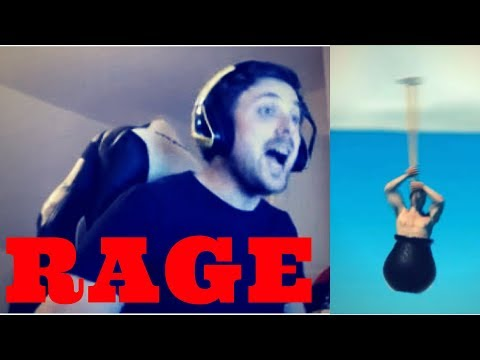 Funny Twitch RAGES | Getting Over It