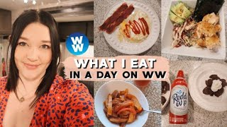 WHAT I EAT IN A DAY ON WW TO LOSE WEIGHT (WEIGHT WATCHERS BLUE PLAN)