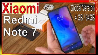 "Xiaomi Redmi Note 7 - Global Version - 6,3"" - 4GB - 64GB - Unboxing - Erster Start - Smartphone"
