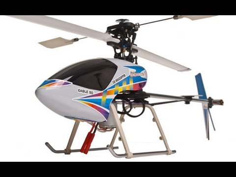 New Exceed Rc 2.4ghz 6ch Eagle 50 RTF RC Helicopter