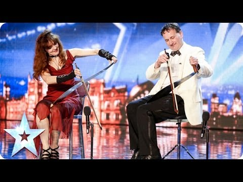 Saws Crossed fail to cut it with the Judges | Britain's Got Talent 2014 klip izle