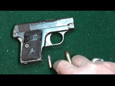 Colt 1908 Vest Pocket Pistol Cal 25. Part 1 by FirearmPop