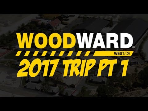 WOODWARD TRIP 2017 DAY #1