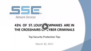 Cyber Crime in St  Louis | Get Protected With SSE Networks