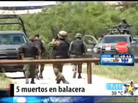 Matan a 5 zetas en Nuevo Leon y limpian un rancho usado como campo de entrenamiento Video