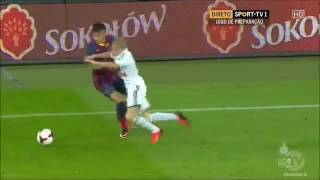 Neymar His First Game For Barcelona [HD]