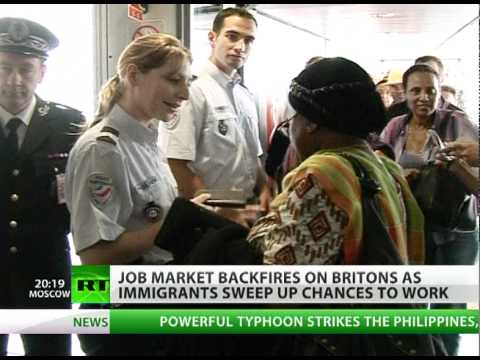 Work War Too: Migrants mopping up UK jobs