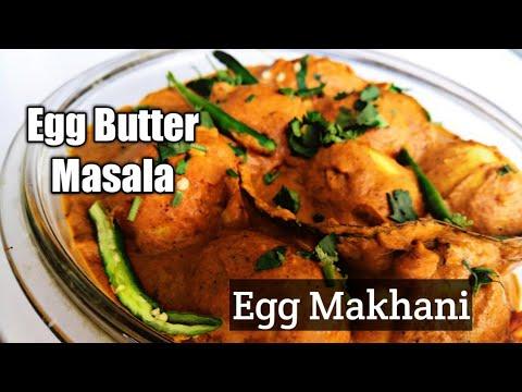 Egg Butter Masala | Egg Makhani recipe | Egg Masala
