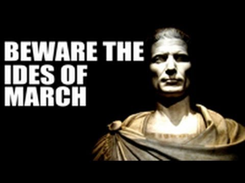 beware the ides of march Beware the ides of march visit the romans site for interesting history, facts and  information about the ides of march the date and significance of the ides of.