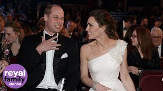 The Duke and Duchess of Cambridge arrive at BAFTAs