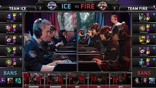 Team ICE vs Team FIRE | All-Star Challenge URF mode | All-star Paris 2014 Day 1