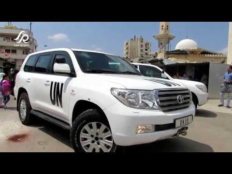 UN gets into Al Waer district in Homs