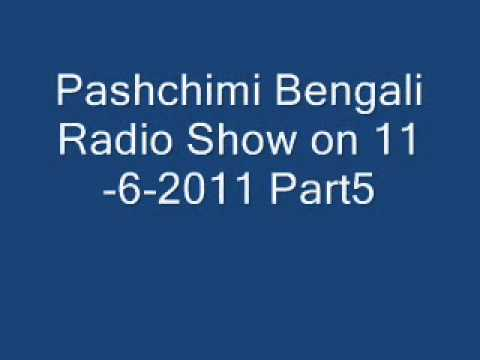 Pashchimi Bengali Radio Show on 11 6 2011 Part5