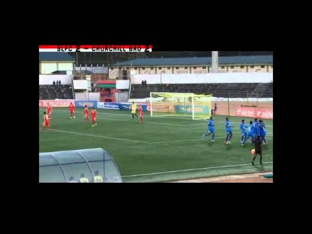 SLFC vs Churchill Brothers Highlights