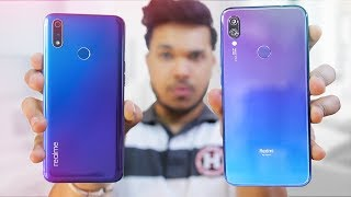 REALME 3 PRO vs REDMI NOTE 7 PRO Camera,Battery,,Performance🔥