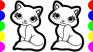 eDrawing Images How To Draw A Cute Cat Easy Painting Ideas For Kids Art Hub!