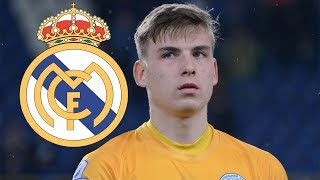 Andriy Lunin ● Welcome to Real Madrid ● Best Saves Compilation 🇺🇦