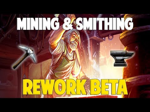 Runescape 2018 | Mining & Smithing Rework BETA!