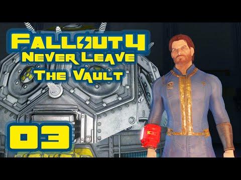 Fallout 4: Vault-Tec Workshop DLC - Never Leave The Vault Challenge - Part 3 - Vault Dwellers!