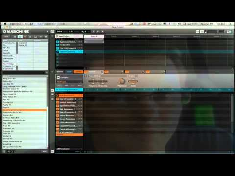 Raw Voltage Maschine expansion Overview by Flux302