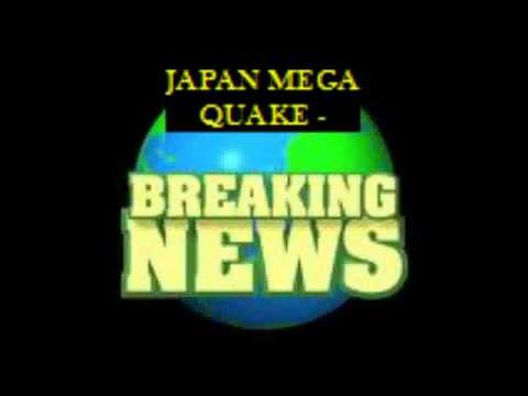 Latest News: Expected Tsunami Wave Higher than Most Pacific Islands  - Japan 8.9 Earthquake