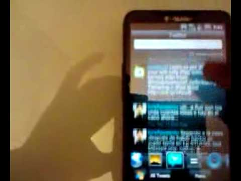 HTC HD2  Tmobile Kumar's Custom rom  (español)