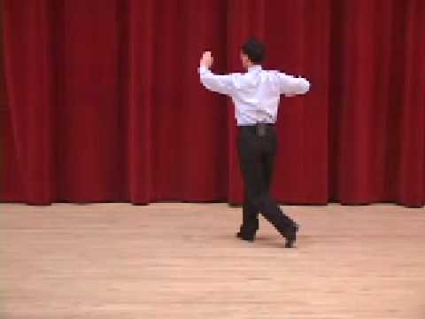 Silver Tango - Outside Swivel to Left Ballroom Dance Lesson