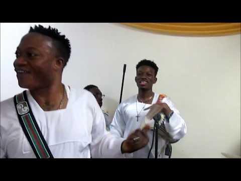 Mega 99 & Bisi Alawiye at C&S Bronx, NY Church Anniversary 6/11/17