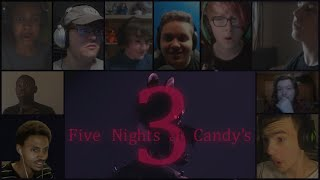 """Five Nights at Candy"