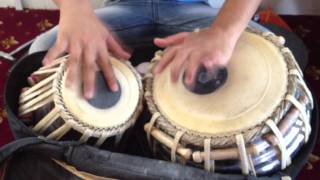 Gurtek Singh- Dhol Beats on Tabla (HD)