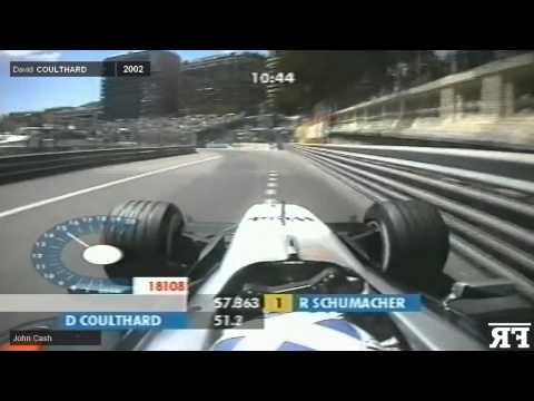 F1 Challenging corners onboard | F1 1975-2015 Tabac-Piscine1 (Monaco)
