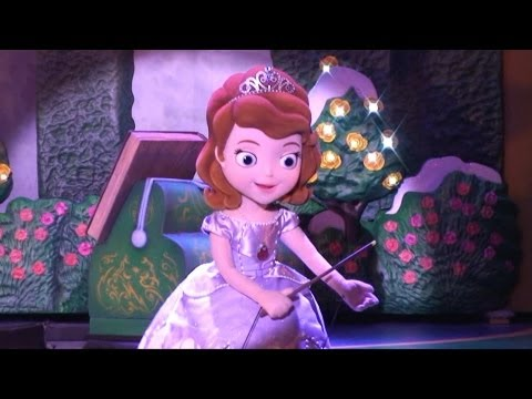Sofia The First - New Segment - Disney Junior Live on Stage. Disney's Hollywood Studios Disney World