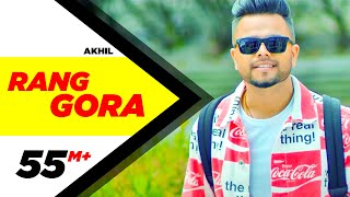 AKHIL | RANG GORA (Official Video) | BOB | Latest Punjabi Song 2018 | Speed Records