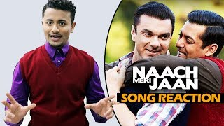 download lagu Naach Meri Jaan Song Reaction  Tubelight  Salman gratis